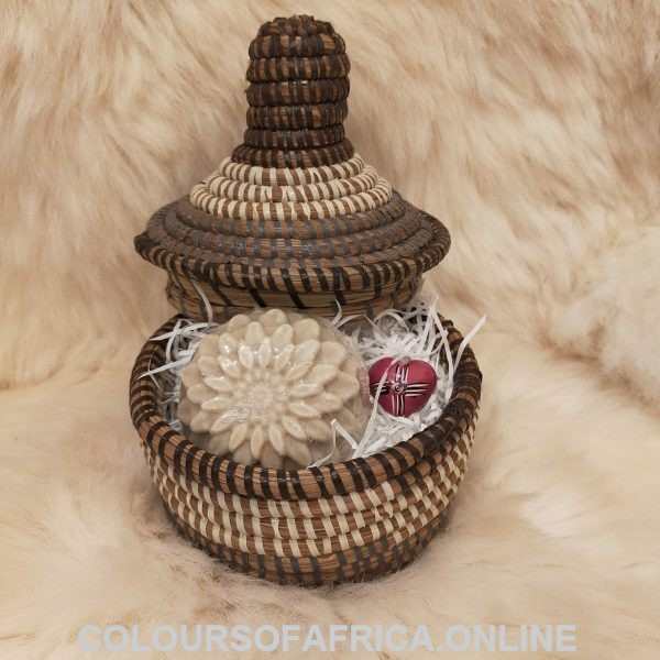 African basket gift set